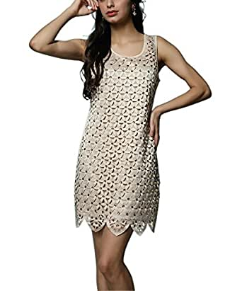 Out great gatsby style themed prom semi formal dress beige clothing