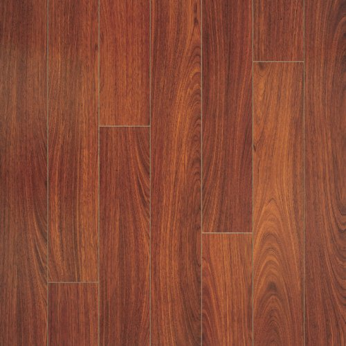 Pergo RM000457 Elegant Expressions Laminate Flooring Sample, 16-Inches by 4.9-Inches, Jatoba