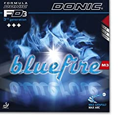 Donic Blue Fire M3 Table Tennis Rubber -Black