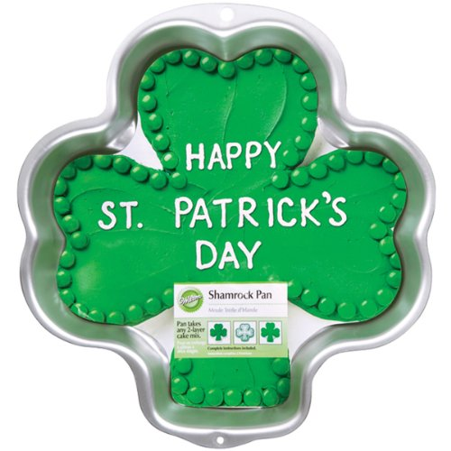Wilton Shamrock Pan (Shamrock Cake Pan compare prices)