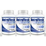 NUTRAFLUSH PRO (3 Bottles) - Complete Colon Cleanser, Full Body Detox Cleanse and Diet Supplement ~ Nutraflush Pro