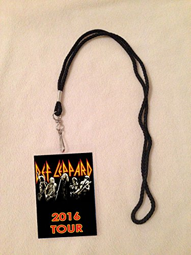 Def Leppard 2016 Tour Vip All Access Backstage Meet & Greet Package Pass with Lanyard (Def Leppard Tickets compare prices)