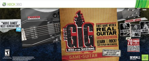 Power Gig: Rise Of The Sixstring Guitar Bundle -Xbox 360