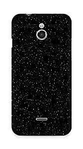 Amez designer printed 3d premium high quality back case cover for Infocus M2 (sky black)