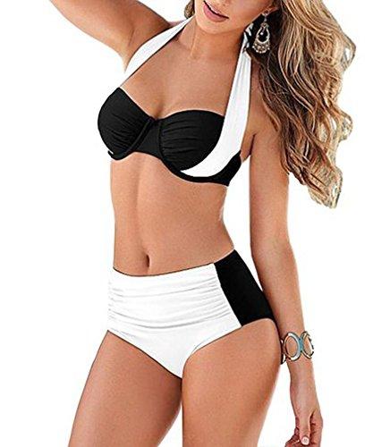 sicong2-colorful-womens-halter-neck-two-colors-push-up-padded-bikini-sets-swimwear-whitelarge-comfor