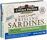 Crown Prince Natural Brisling Sardines are one of nature's most perfect foods. Naturally nutritious, these sardines boast delicate flavor and firm texture. All varieties are lightly smoked and hand packed. We only source the highest quality Brisling Sardines, which are available in a variety of sauces and oils. Just one can provides one-third of the protein needed every day. Brisling Sardines are an excellent source of calcium, and contain 2 grams of omega-3 per serving. Try them in salads, casseroles, sandwiches or chowders.