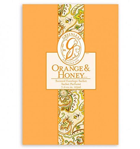 Foglia Arancione e miele grande busta profumata Bustina