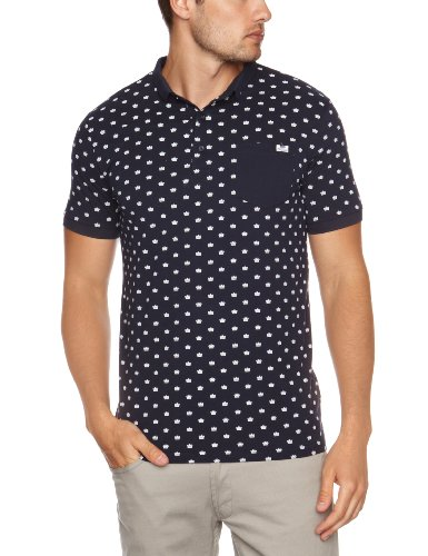 Weekend Offender Lennox Ave Men's T-Shirt Navy Large