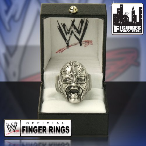 WWE Rey Mysterio Antique Brass Character Finger RING