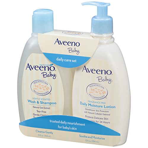Aveeno Baby Daily Care Set, 2 Items