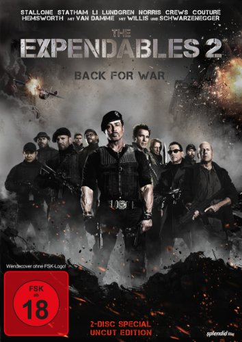 The Expendables 2 - Back for War (Special Uncut Edition) [2 DVDs] [Special Edition]
