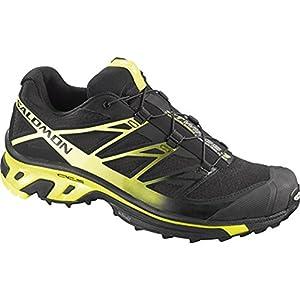 Salomon XT Wings 3 Trail Running Shoes (For Men) – BLACK/BLACK/FLUO YELLOW