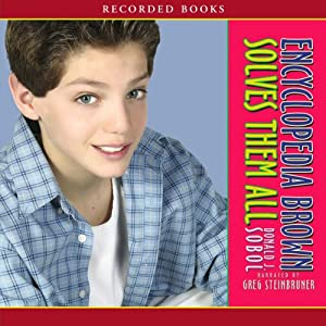 Encyclopedia Brown Solves Them All Audiobook