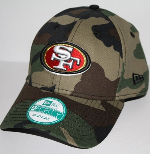 NFL San Francisco 49ers Basicamo 9Forty Adjustable Cap at Amazon.com