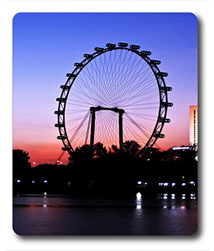 Mouse Pads / Mouse Mats Night under the Ferris wheel PC Custom Mouse Pads / Mouse Mats Case Cover