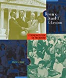 img - for Brown V. Board of Education (Cornerstones of Freedom: Second) by Good, Diane L. (September 1, 2007) Paperback book / textbook / text book