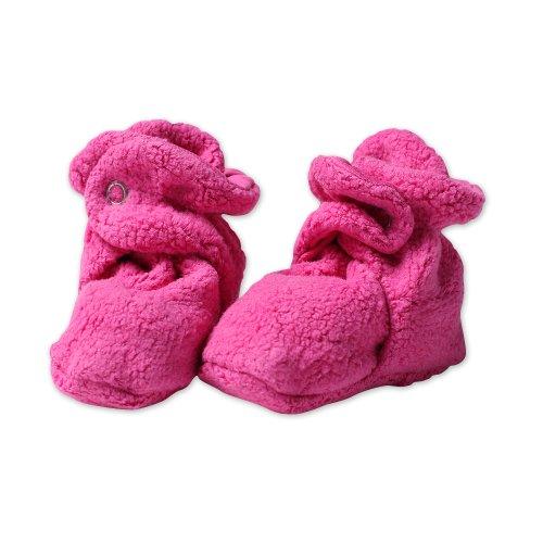 Zutano Newborn Baby-Girls Fleece Bootie, Fuchsia, 18 Months
