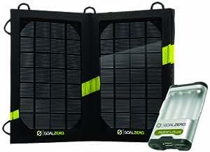 Goal Zero Guide 10 Plus Solar Kit 高出力ポータブルソーラー充電器 Nomad7V2とGuide10Plusのセット 日本正規代理店品 BT096 41023