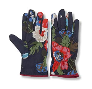 Joules garden gloves navy garden outdoors for Gardening gloves amazon