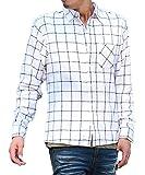 マイノリティセレクト(MinoriTY SELECT) ネルシャツ メンズ チェック ネル シャツ 長袖 赤 黒 S B柄(10)
