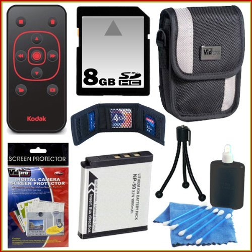 Accessory Kit for the Kodak Zi8 and PlaySport Camcorder