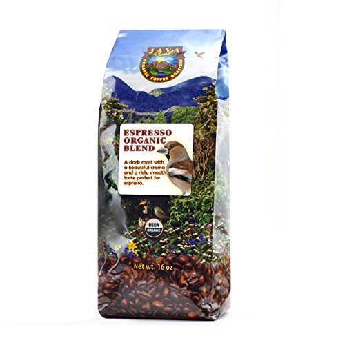 Java Planet - Espresso USDA Organic Coffee Beans, Dark Roast Arabica Gourmet Specialty Grade A, packaged in 1 LB bag (Light Roast Decaf Whole Bean compare prices)