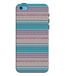 EU4IA Ethnic Pattern MATTE FINISH 3D Back Cover Case For iPhone 5c - D215
