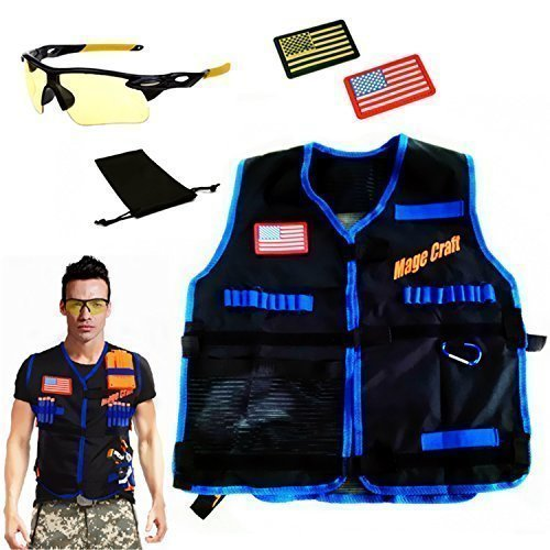 Learn More About MageCraft Elite Tactical Vest Kit For Nerf N-strike Elite Series,Nerf Super Soaker ...