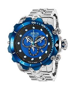 Invicta Men's 14624 Venom Analog Display Swiss Quartz Silver Watch