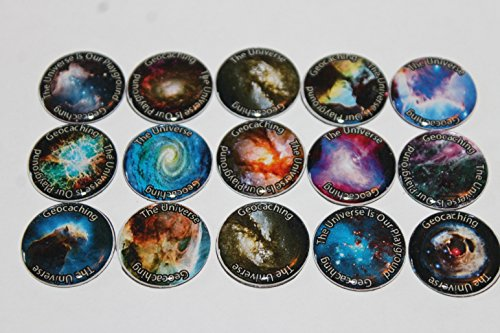 Geocache Refrigerator Magnets -The Universe Is Our Playground Without The Geocache Logo front-159235