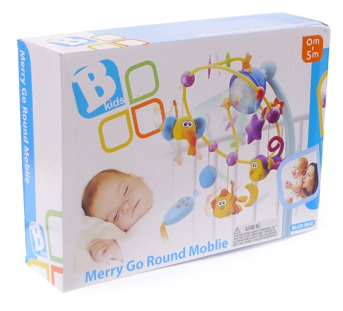 B kids Remote Control Merry Go Round Mobile (Discontinued by Manufacturer)