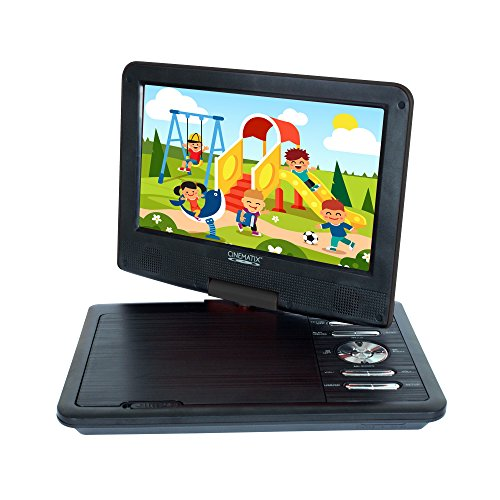 "Best Deals! Cinematix 9"" Portable DVD Player with 6 + Hour battery Life"
