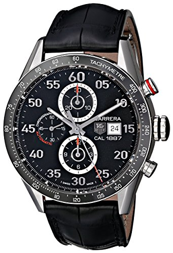 TAG-Heuer-Mens-CAR2A10FC6235-Carrera-Stainless-Steel-Automatic-Watch-with-Black-Leather-Band