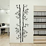 Chinese Bamboo Tree Wall Transfer / Vinyl Art Decor / Big Tree Wall Sticker TR10