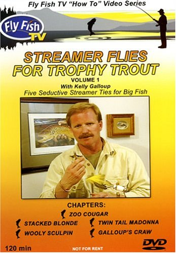 Streamer Flies For Trophy Trout with Kelly Galloup (Streamers Dvd compare prices)