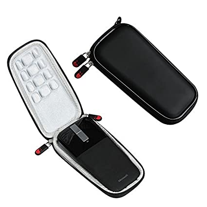 For-Microsoft-Arc-Touch-Mouse-Travel-Hard-EVA-Protective-Case-Carrying-Pouch-Cover-Bag-Compact-sizes-by-Hermitshell