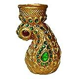 Artistique Antique Design Pasley Tea Light Holder With Beautiful Stone Work - B00R7SFRV0