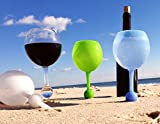 The Beach Glass Acrylic Classic Break-Resistent Seamless Shatterproof Acrylic Outdoor Glasses Cocktail Drinkware 12-ounce