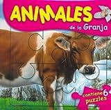 Animales de La Granja - Contiene 6 Puzzles (Spanish Edition)