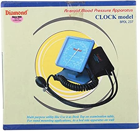 Diamond Clock Type Blood Pressure Monitor