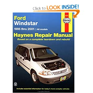 ford windstar 1995 2001 haynes automotive repair manual. Black Bedroom Furniture Sets. Home Design Ideas