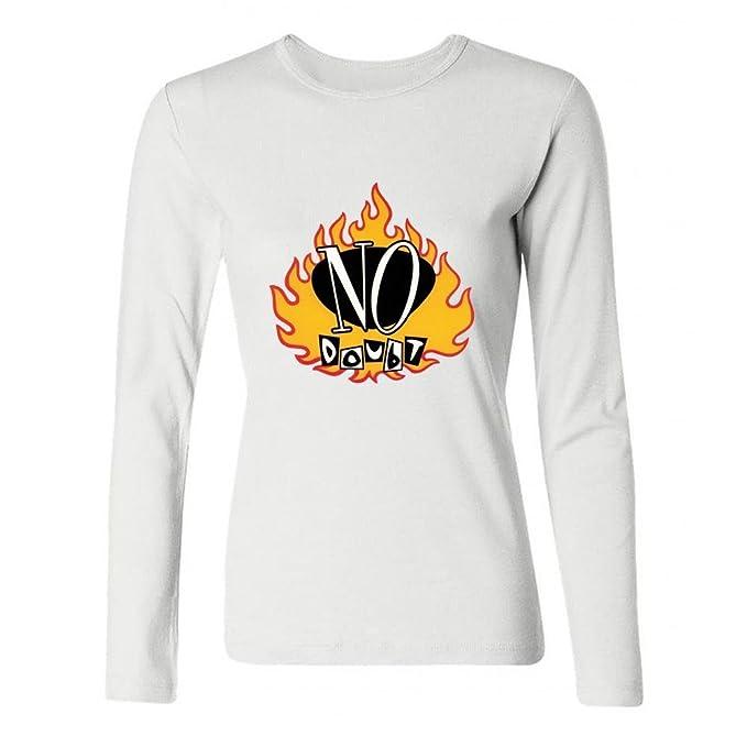 Rosar Women's No Doubt Tragic Kingdom Art Long Sleeve T Shirts