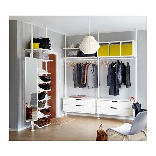 RoomClip商品情報 - IKEA(イケア) STOLMEN 1セクション, ホワイト (09002288) (090.022.88)