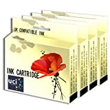 UCI Compatible Ink Cartridge Replace BCI15 - 4Black For Canon Printer ( Non-Original )