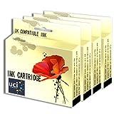 UCI Compatible Ink Cartridge Replace BCI24 - 4Black For Canon Printer ( Non-Original )