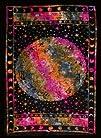 Tie-dyed Zodiac Tapestry