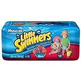Huggies Little Swimmers Disposable Swimpants, Large, 10-Count