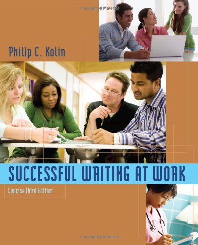 Successful Writing at Work: Concise Third Edition