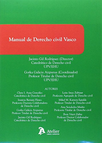 Manual de Derecho civil vasco