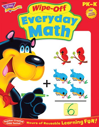 Everyday Math Wipe-Off® Book - 1